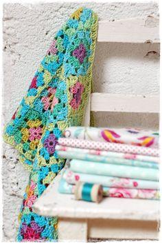crochet cotton blanket                     TERESA RESTEGUI  http://www.pinterest.com/teretegui/