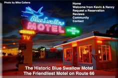 I so want to take a trip down Route 66 and stay at all these neat little motor inns!