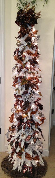 Christmas Tree Themes - Animal Print