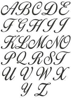 Alphabet A, Style Alphabet, Cursive Fonts Alphabet, Tattoo Fonts Cursive, Lettering Tattoo, Fancy Writing Alphabet, Script Lettering, Alphabet Letters Design, Cursive Script