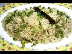 Today I am sharing the recipe of simple yet delicious Green Peas Pulav which I cook in Panasonic Rice Cooker. Ramzan Special Recipes, Rice Recipes, Cooking Recipes, Coriander Leaves, Green Peas, Garam Masala, Dishes