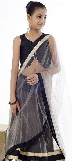 200620: #Kidswear - #monochrome #lehenga for your little daughter.  #Diwali #Sale