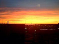 POTD - January 31st. A beautiful 7am sunrise in Milwaukee