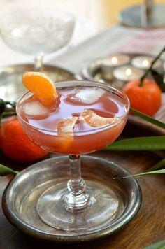 Punch de Noël clémentine cranberry