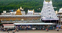 Tirumala Tirupati Balaji Temple, Andra Pradesh