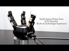 Tactile Sensor on Industrial Robot Gripper - 3-Finger Adaptive Robot Gripper - YouTube