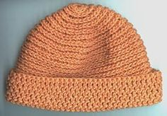 Crochet Hat 18K- Camel Stitch. Change 1st Row to a magic circle and it looks like a keeper. Worked up in HDC.