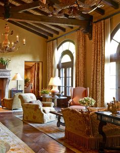 Love the beams- Captivatingly Cozy Bay Area Home - Traditional Home®