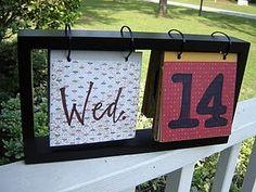 Perpetual Calendar DIY