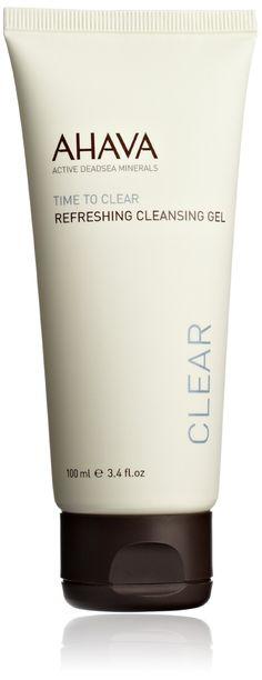 AHAVA Time to Clear Refreshing Cleansing Gel, 3.4 fl. oz.