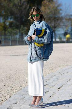 Paris Fashion Week October 2015 | Street styles by Team Peter Stigter | #wefashion