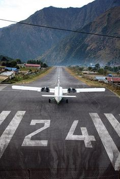 Lukla Airport - Gateway to Everest Base Camp, Nepal Everest Base Camp Trek, Air Travel, Beach Travel, Trekking, Places To See, Mount Everest, Around The Worlds, Adventure, Camping