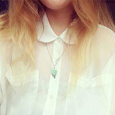 with the half heart of her bestie necklace Besties, Arrow Necklace, Heart, Jewelry, Fashion, Moda, Jewlery, Jewerly, Fashion Styles
