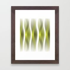 Greeny Framed Art Print by weivy Art Prints For Home, Framed Art Prints, Presents For Friends, Good Cause, Green Art, Art Boards, Ivy, My Design, Stationery