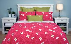 Daniadown Sassy Duvet Cover and Pillowcase Set Toile Bedding, Teen Bedding, Bedding Sets, Comforter Cover, Duvet Cover Sets, Green Pillows, College Dorm Rooms, College Life, Dream Rooms