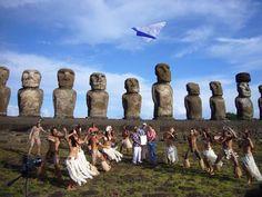 Chile ...Angaroa, Isla de Pascua