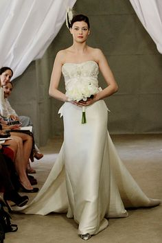 Carolina Herrera Bridal Fall 2012