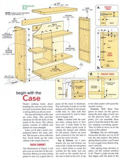 #3060 Rotary Tool Cabinet Plans - Workshop Solutions