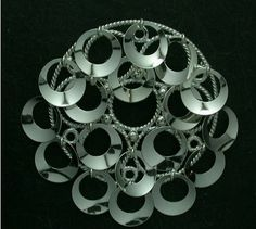 Regine Juhls, Norway traditional design serie, silver brooch