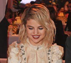 December 4: Selena at the Fashion Awards in London.