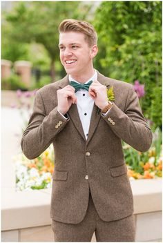 This Provo City Center Temple spring formal session is one of our favorites! The emerald green and gold ivntage inspired wedding attire was perfect! Tweed Wedding Suits, Tweed Suits, Wedding Attire, Wedding Dress, Clad And Cloth, Lds Bride, Vintage Groom, Gold Wedding Colors, My Perfect Wedding