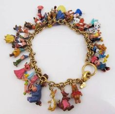 Adorable(!!) Disney charm bracelet, currently $52 on ShopGoodwill.com.