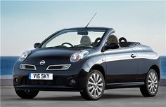 Nissan Micra with no top on!