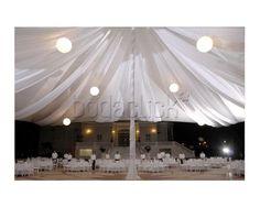 Montaje con hermosa carpa para tu boda / Controltur /  Banquete para boda / Yucatán