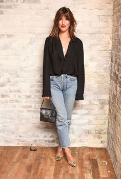 Le diner Roger Vivier et Jeanne Damas Abaca Style Désinvolte Chic, Style Casual, Casual Chic, My Style, Style Hair, Jeanne Damas, New York Fashion, Fashion Week, Fashion Fashion