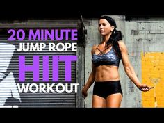 20 MINUTE FULL BODY HOME WORKOUT! Jump Rope HIIT - YouTube