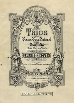 Beethoven String Trios, Undated