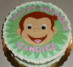 Curious George cake By: Cheryl's Home Kitchen. Find us on FaceBook!