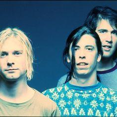 Nirvana Kurt Cobain, Krist Novoselic, and Dave Grohl. Best.