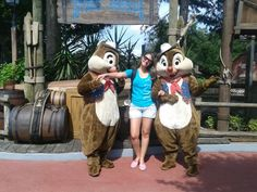 Tico e Teco magic Kingdom Disney