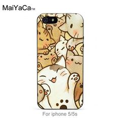 New Arrival Hot Sale Fashion phone case cover Cute Cartoon Cat Painted beautiful…