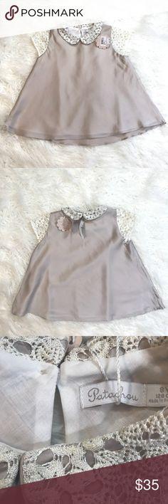 Patachou Girls Short Sleeve Blouse Patachou Girls Short Sleeve Blouse  Made in Portugal  100% Polyester Patachou Shirts & Tops Blouses