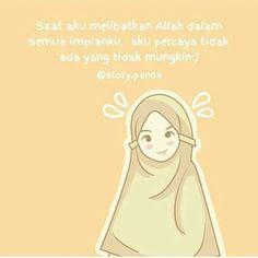 Hijrah for allah Islamic Inspirational Quotes, Islamic Quotes, Quotes Lucu, Islamic Cartoon, Cute Couple Cartoon, Hijab Cartoon, Cartoon Quotes, All About Islam, Islamic Wallpaper