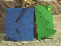 Simple Christmas, Christmas And New Year, Kids Christmas, Xmas, Christmas Card Crafts, Christmas Templates, Christmas Tree Decorations, Advent, Card Templates Printable