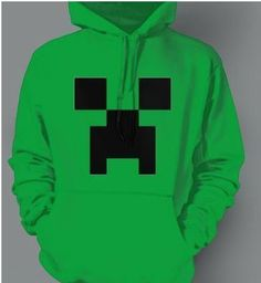 This hoodie shows my style because I love big, baggy hoodies. I love the Minecraft creeper and pants that are for relaxing. If I could do something it would be sitting in bed and watching movies.