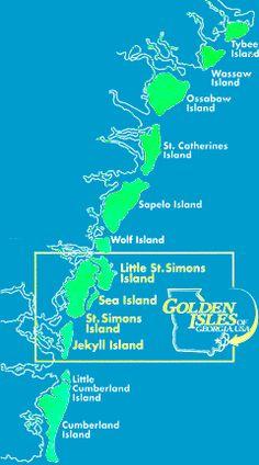 Golden Isles - Georgia coast
