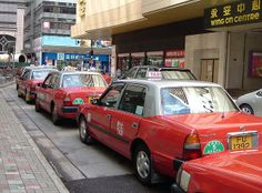 Rode taxi's