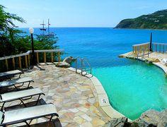 Infinity Pool - Little Divi Resort St Maarten