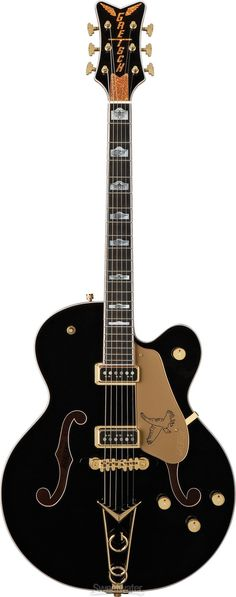 <3 Loved this model since i was a kid... wanna own one someday...  Gretsch Black Falcon