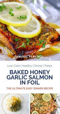 Whole Salmon Recipe, Salmon Recipe Videos, Baked Salmon Recipes, Seafood Recipes, Dinner Recipes, Seafood Meals, Seafood Dishes, Fish Recipes