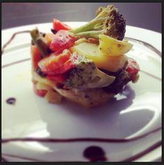 Gemüsegratin mit Feine Crème von Ligne Finesse via @cookinesi