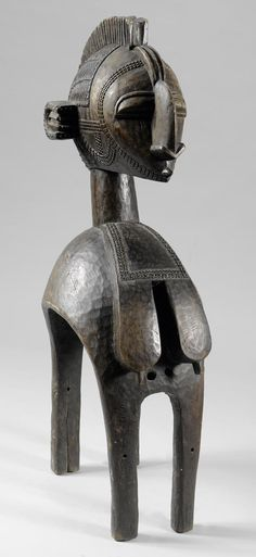 Africa | Mask from the Baga people of Guinea | Wood