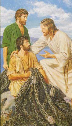 Jesus calls His apostles!!!