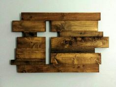 Cross wood work