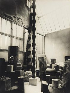"""[Brancusi] introduced three of the decisive inventions in sculpture of the twentieth century: environmental sculpture, minimalist sculpture, and serial sculpture."" - Museum director and Brancusi expert Pontus Hulten - Brancusi's aligned rhomboids decorated initially traditional Romanian sculpted house pillars,clothes & was also found at Cuina Turcului - oldest Carpathian civilization (10.650 BC) www.pinterest.com/pin/533958099544136695/ http://www.pinterest.com/pin/533958099544137345/"