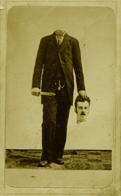 We all know that people messed around with photos long before there was Photoshop. But you might not have realized how crazy the Victorians were about headless portraits. They literally lost their heads over this trend. Check out the absolute creepiest examples below.